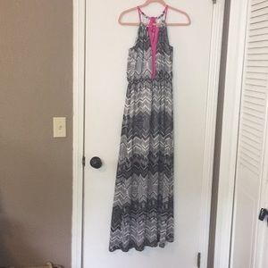 Worn one time. Maxi dress
